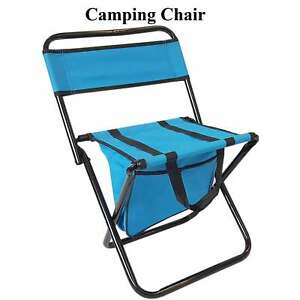 Hiking Fishing Festival BBQ Picnic Chair Camping Stool Foldable Outdoor Sea CL