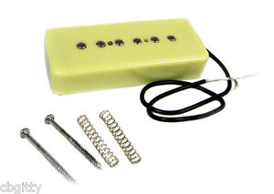 """Vintage-style """"Soap Bar"""" P90 clone Electric Guitar Pickup - Great warm tones!"""