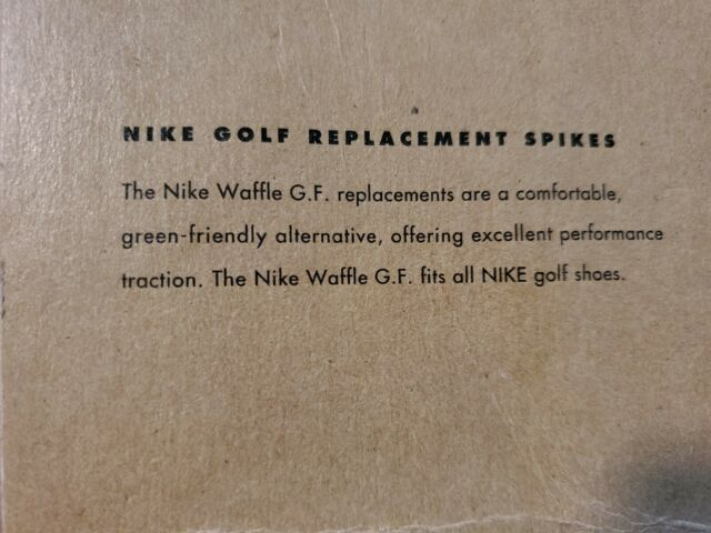 Nike Golf Replacement Spikes Waffle G. F. Fits all Nike golf shoes