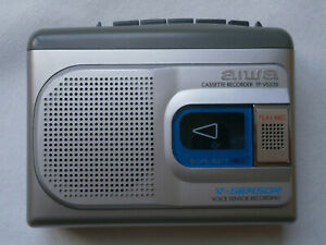 walkman-baladeur-cassette-vintage-aiwa-tp-vs535-recorder-v-sensor-dictaphone