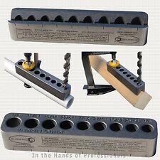 "Big Gator Tools STD2000DGNP Large V-DrillGuide™ w/9 SAE Hole Size 3/8"" - ½"" NEW"