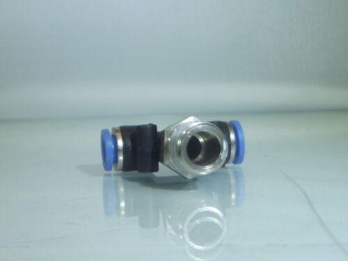 "16mm Male Thread Centre Swivel Tee 16mm PUSH FIT TEE 1//2/"" Bsp Male"