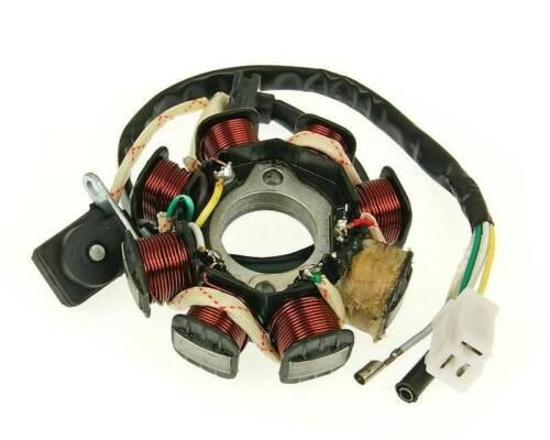 Lima Generator Lichtmaschine Stator Version 2-GY6 50ccm AGM,ATU,Baja,Baotian,Bee