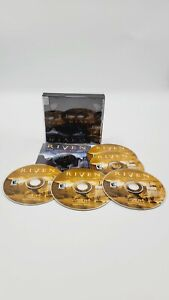 Riven: The Sequel to Myst (PC Game WIN/MAC 1997) Complete 5 Discs With Manual