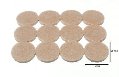 Casa, Jardín Y Bricolaje Materiales De Bricolaje Sensible Tira De 12 Redondo Almohadillas Fieltro Autoadhesivo 25mm Diámetro 4mm Grueso