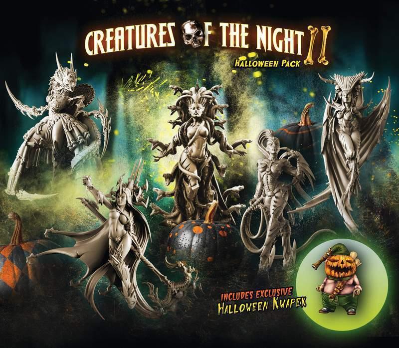 Raging héroes criaturas de la noche 2-Halloween 2018-Edición Limitada
