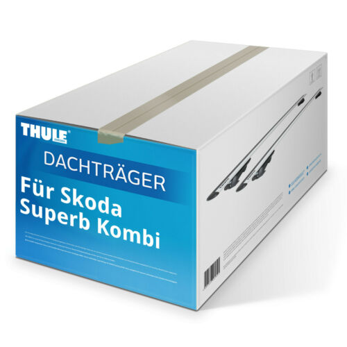 für Skoda Superb Kombi 2009-2015 kpl. Dachträger Thule WingBar EVO Aluminium