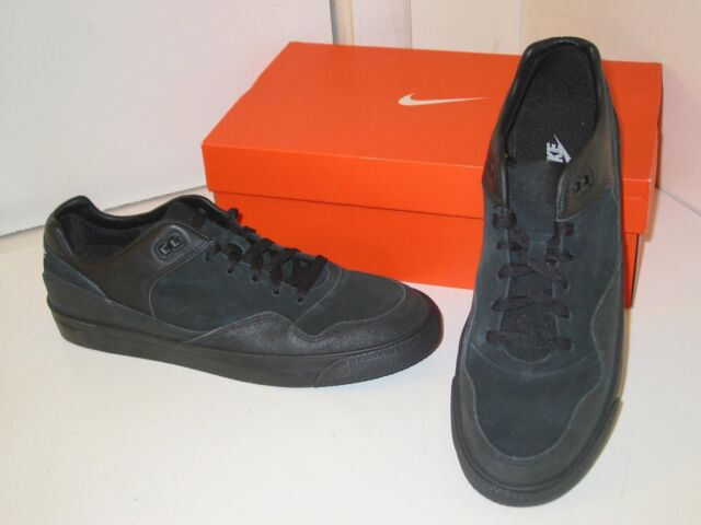 finest selection d4168 a7984 Nike Talache Low AC ND Black Suede Leather Walking Trainer Casual Shoes  Mens 9