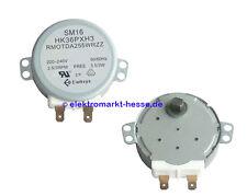 Drehteller-Motor GM-16-2F302, RMOTDA255WRZZ für Sharp und andere Mikrowellen