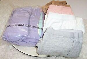 Lot Of 9 Comfort Choice Cotton Stretch Underwear Women Plus Sz 12 Full Cut Brief