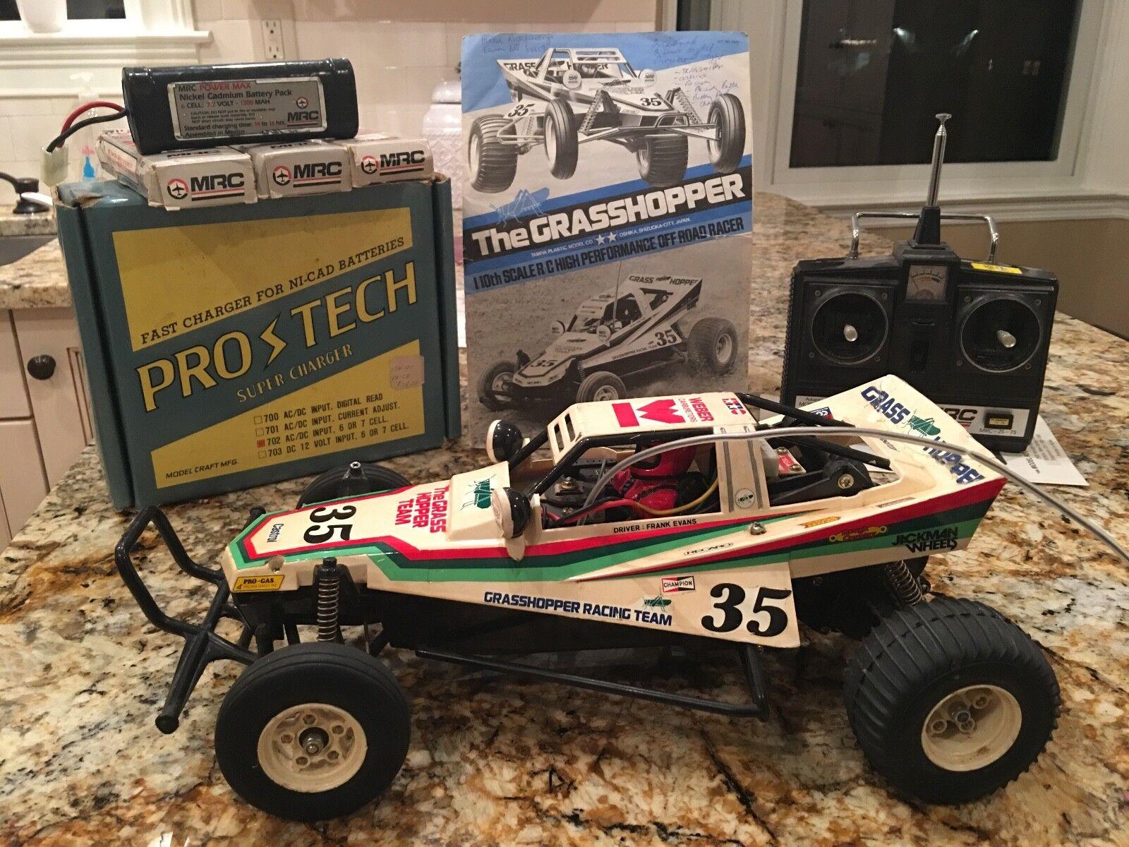 Tamiya Grasshopper Vintage Original R C Kit -  5843 - 1984