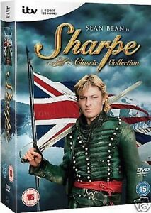 Sharpe-Classic-Collection-Complete-Series-15-Films-l-DVD-Remastered-NEW