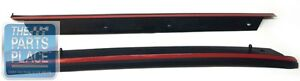 1982-92 Camaro / Firebird OEM T-Top Deflectors Pair - GM 10198352 / 10198353