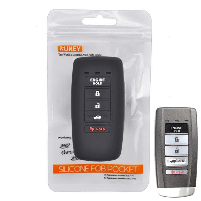 For Acura MDX ADV RDX RLX ILX TLX Silicone Key Case Remote