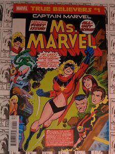True-Believers-Captain-Marvel-Ms-Marvel-2019-Marvel-1-Ms-Marvel-1-NM