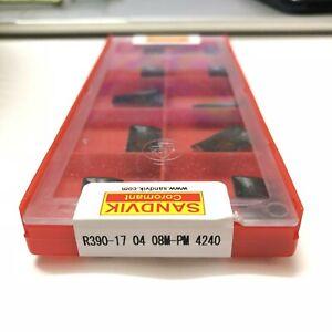 Sandvik-R390-17-04-08M-PM-4240-milling-cutter-CNC-tool-blade-10PCS-BOX