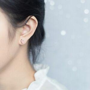 Ohrstecker-Hase-amp-Karotte-bunt-echt-Sterling-Silber-925-Damen-Kinder-Ohrringe