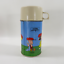 Vintage-1959-Peanuts-Charlie-Brown-Thermos-amp-1958-Snoopy-Silver-Plate-Bank thumbnail 3