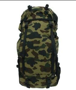 BAPE-PORTER-PORTER-1ST-CAMO-RUCK-SACK-Green-Yellow-Backpack-Collaboration