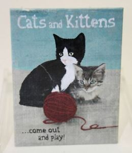 Aimant-Chat-Cats-And-Kittens-Animal-Club-Nostalgic-Art