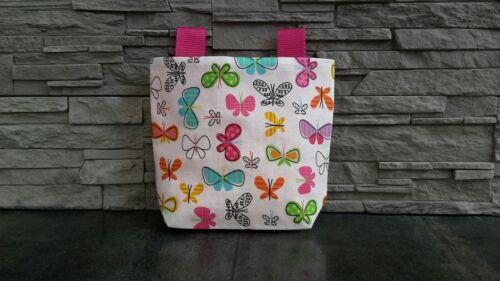 Kinder Fahrradtasche☆ Lenker Tasche ☆ Fahrrad Tasche☆ Fahrradkorb☆ Schmetterling