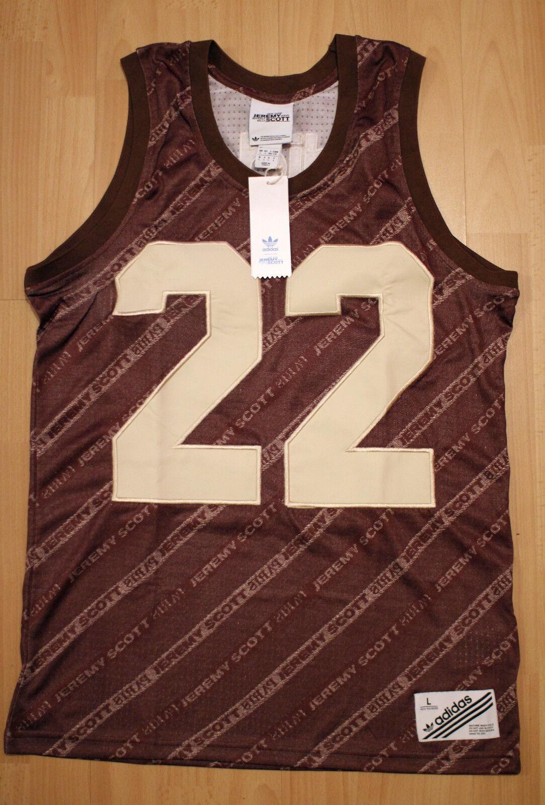 Adidas JS Basket Shirt Tank Top Jeremy Scott Hemd ObyO Gr. S,M,L,XL Neu