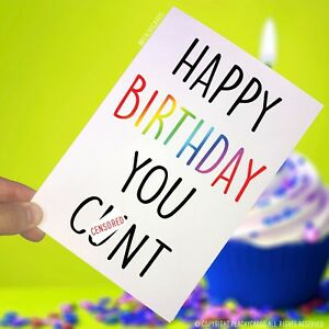 Image Is Loading Funny Happy Birthday Greeting Card C Nt Boyfriend
