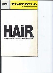 HAIR-The-American-Tribal-Love-Rock-Musical-Playbill-Shubert-Theatre-Chicago-1