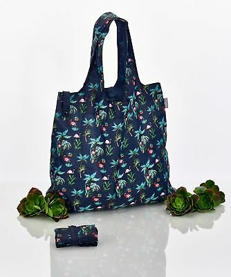 CEDON Easy Bag Faltbare Einkaufsbeutel Einkaufstasche Shopper Flamingo