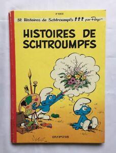 BD-Histoires-de-Schtroumpf-T-8-EO-1972-PEYO-DUPUIS