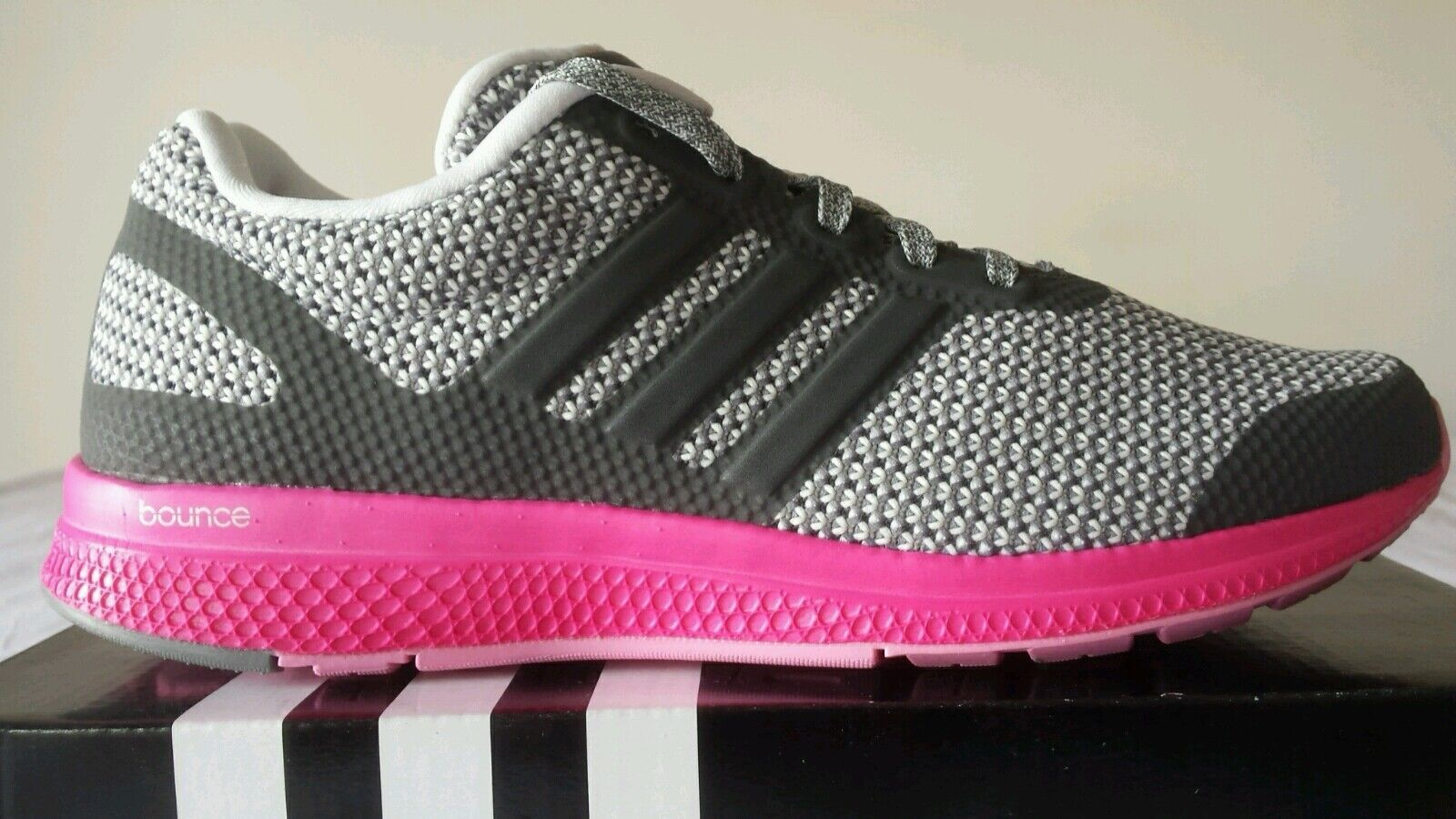 ADIDAS TRAINER MANA BOUNCE NEW GRIGIA FUXIA N.44 BELLISSIME NEW BOUNCE OKKSPORT NIKE 97 044a88
