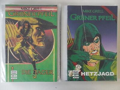 1-9 Nr Grüner Pfeil Dynamisch Hethke Comic Zustand: 0-1/1