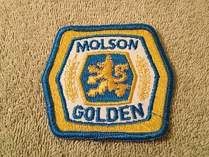 Details about MOLSON ALE GOLDEN CANADA BEER ALCOHOL BEVERAGE EMBROIDERED  PATCH