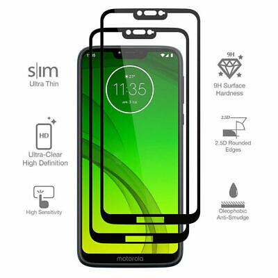 2 Pcs Tempered Glass For Motorola Moto G7 G7 Power E6 E6 Play Screen Protector Ebay