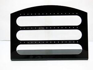 5X-Black-Acrylic-Earring-Stud-Holders-Display-24Pairs