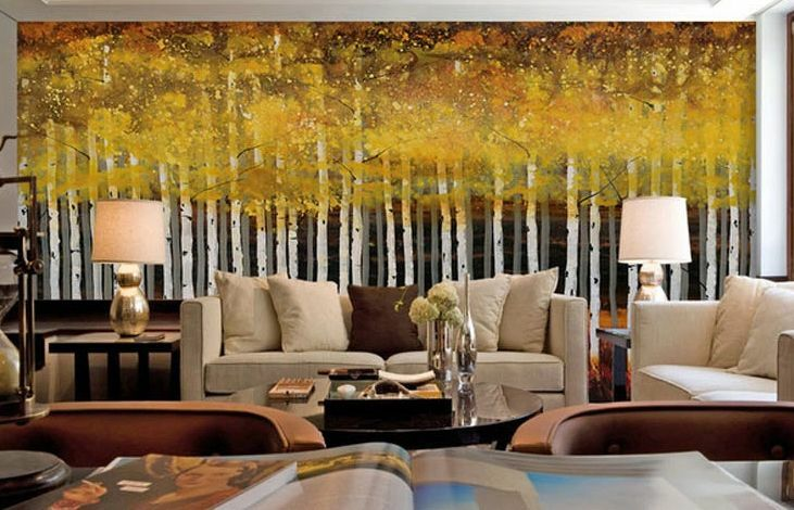 3D Autumn woods 129 WallPaper Murals Wall Print Decal Wall Deco AJ WALLPAPER