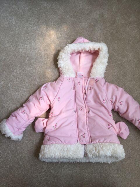 ff1370f807aa Girls  2T Zeroxposur Pink Cheetah Patterned Winter Puffer Jacket