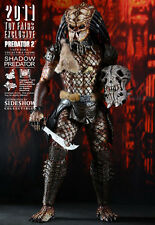 "HOT TOYS SHADOW PREDATOR 2011 Toy Fair EXCLUSIVE 14"" 1/6 Scale Figure Sideshow"