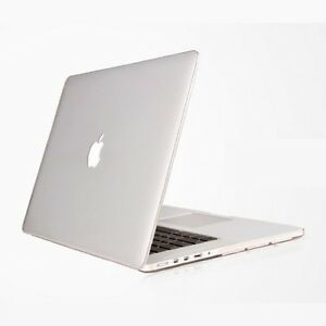 hot sale online bffa7 24936 Details about Pure Crystal Clear Transparent Hard Case Cover for Apple  MacBook Pro 15 A1398