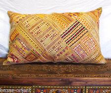 88x55cm Orient Bestickt Patchwork Kissen Sitzkissen Embroidered pillow Cushion 9