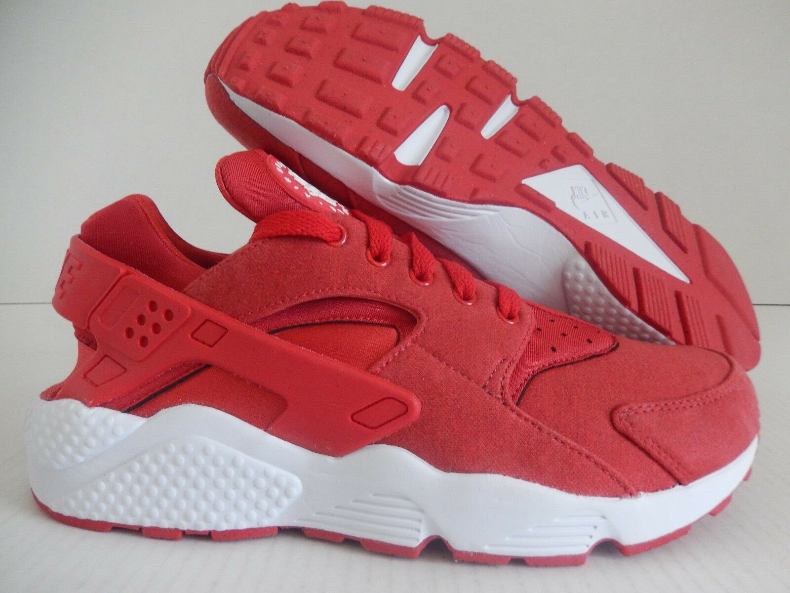 MENS NIKE AIR HUARACHE ID RED-WHITE Price reduction Great discount