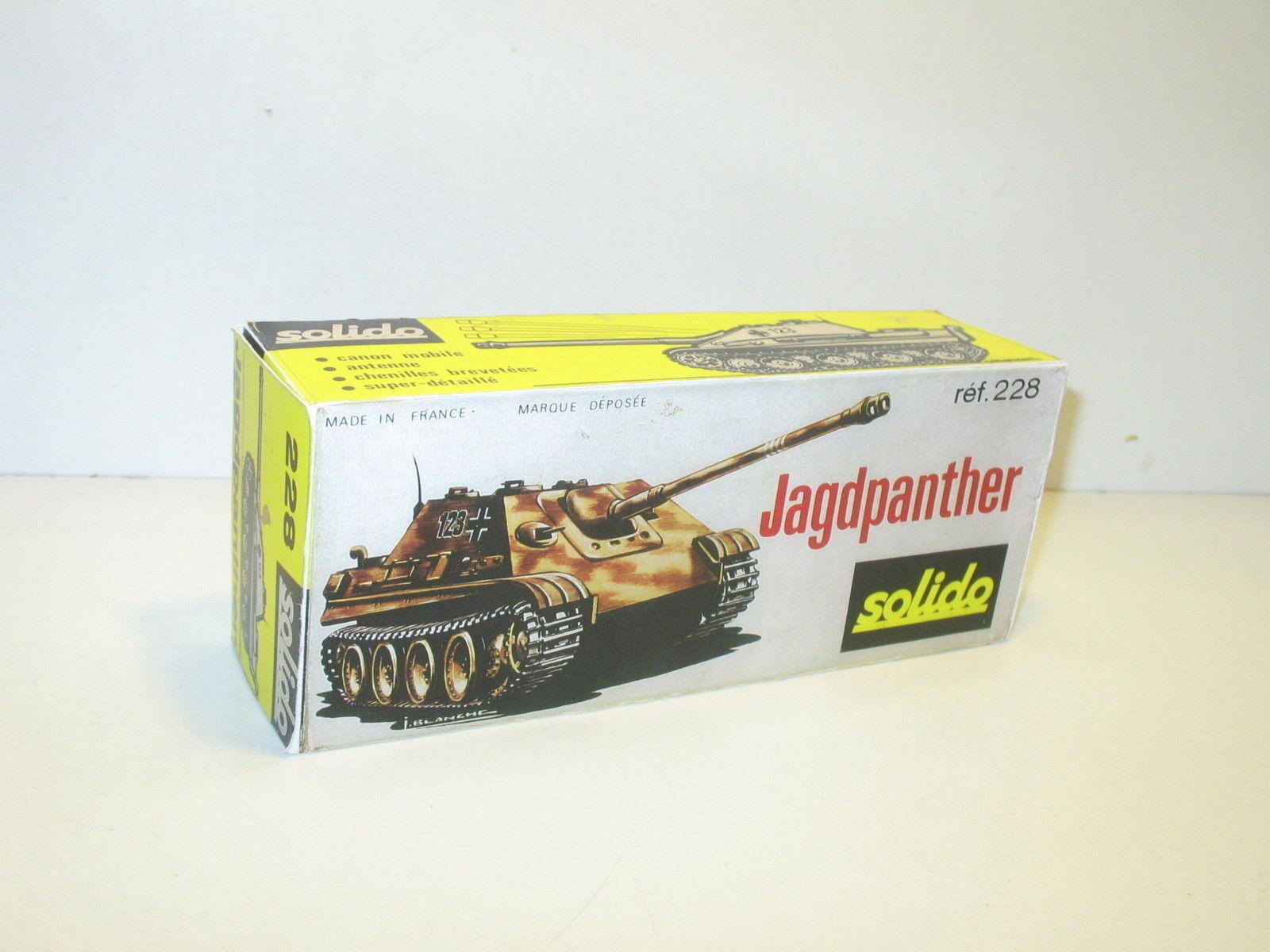 N80, CAJA militar tanque JAGDPANTHER solido