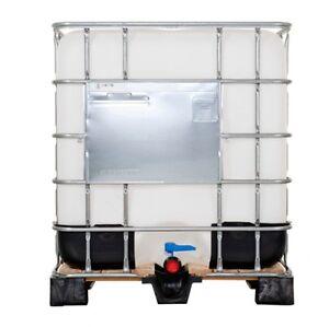 sch tz lx ibc container wassertank regenwassertank 1000 liter sehr gut sauber. Black Bedroom Furniture Sets. Home Design Ideas