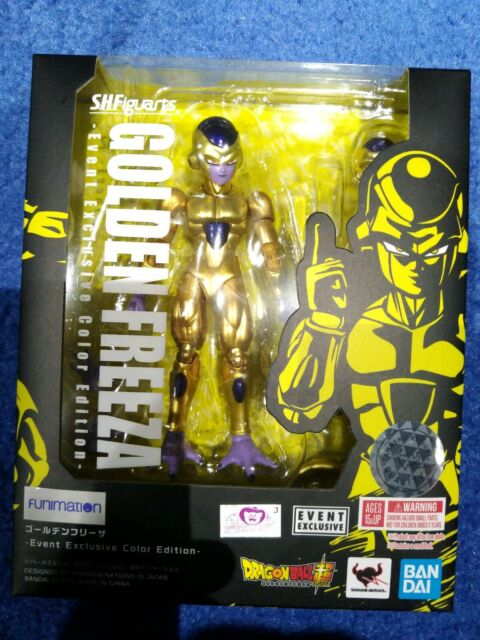 Figuarts Dragonball Z Freeza Frieza action figure Tamashii exclusive Bandai S.H