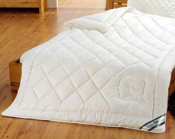 Bio Baumwoll 4- Jahreszeiten Bettdecke 135x200cm Baumwoll Bettdecke kba waschbar