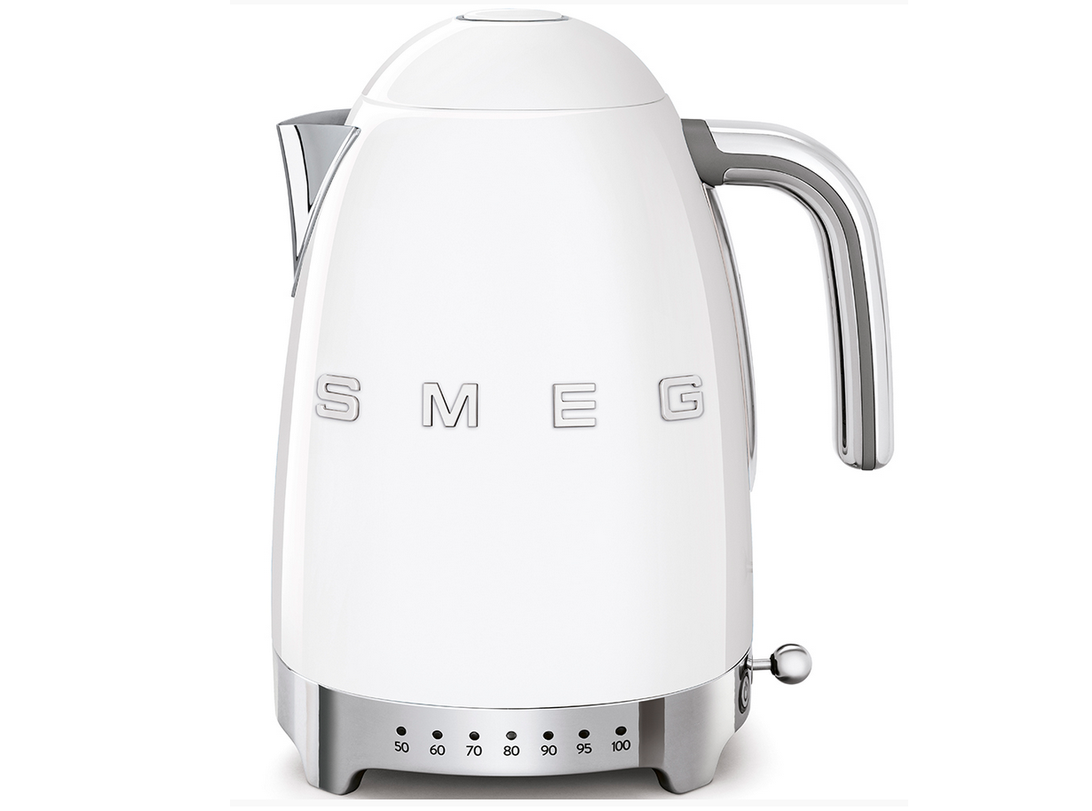 Smeg KLF 04 WHEU chauffe-eau 50's Retro Style, 1,7 l, avec des températures variables