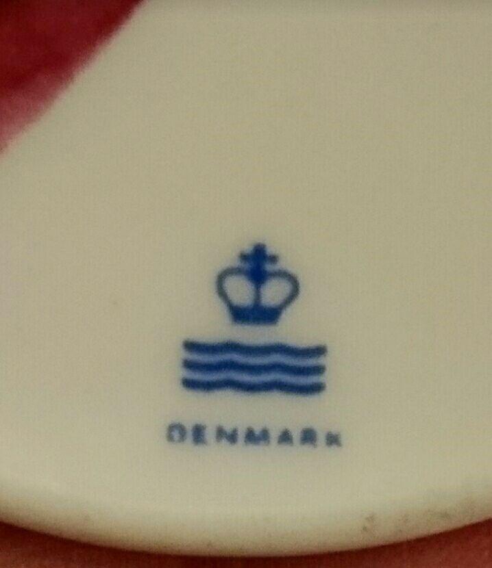Porcelæns pynt eller vedhæng