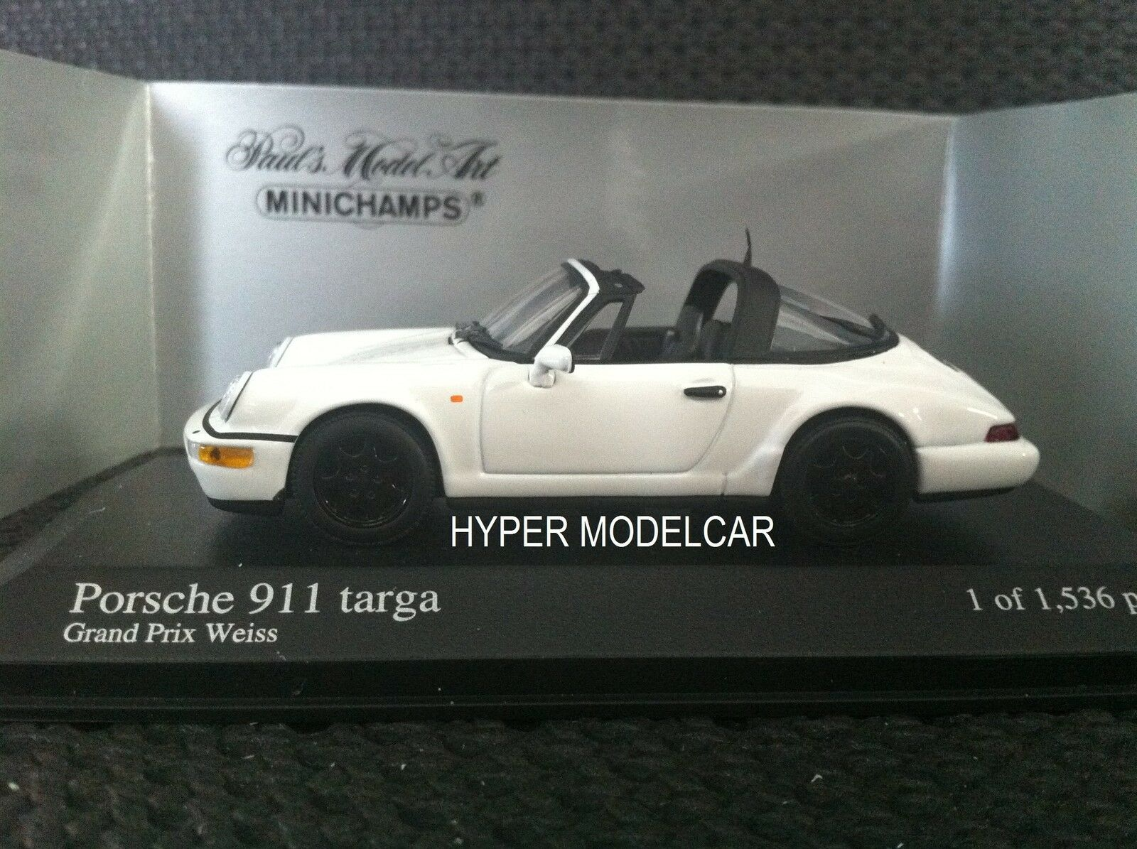 Minichamps 1 43 Porsche 911 (964) Targa 1981 Weiß Art.400061365