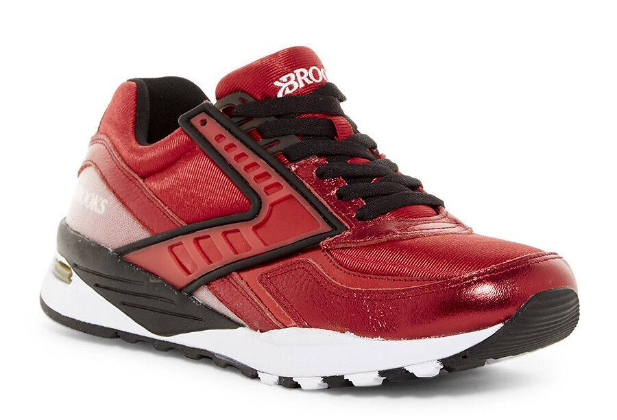 New Brooks Regent Men Sneakers HAUTE RED-BLACK
