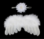 Sweet Newborn Baby Girls Wings/&Headband Costume Birthday Party Photo Prop Outfit